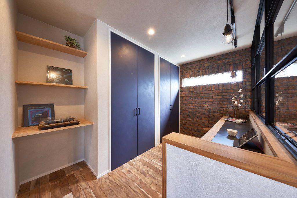 ブルックリンスタイルの家